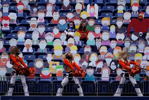 Broncos fill empty seats with 1,800 'South Park' cutouts