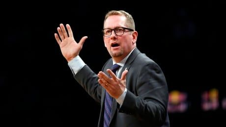 Raptors coach Nick Nurse fined $15K US for criticizing officials