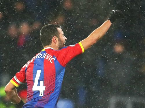 Crystal Palace 1 Leicester City 0: Captain Milivojevic earns vital victory