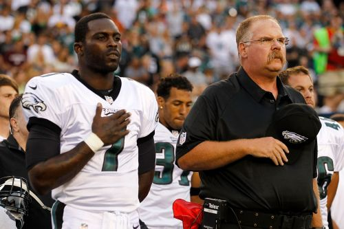 Michael Vick pulling for his ex-coach in AFC Championship