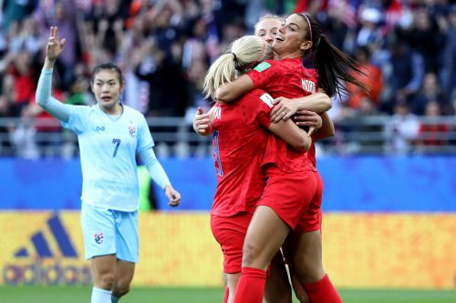 USWNT wins most lopsided game in World Cup history