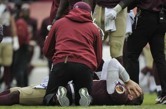 Redskins lose Smith for season to broken leg