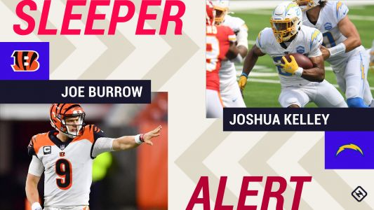 Week 3 Fantasy Sleepers: Joe Burrow, Joshua Kelley among several rookies worth starting