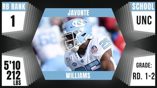 Broncos trade up for Javonte Williams early in Round 2