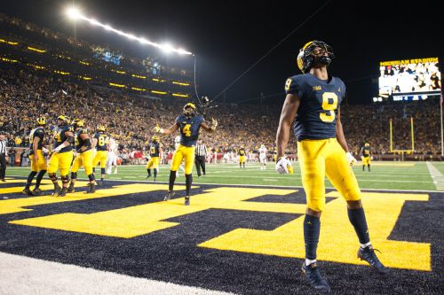 No. 13 Michigan hammers No. 10 Wisconsin at The Big House
