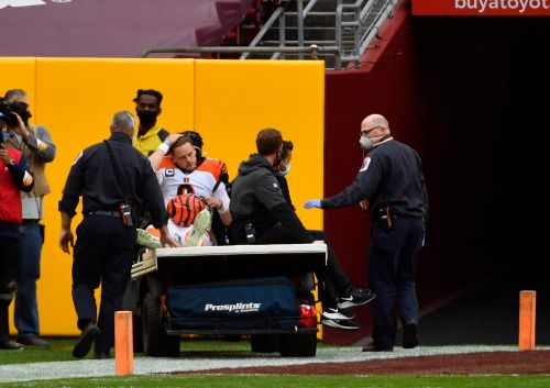 Bengals QB Joe Burrow out for rest of rookie season with torn ACL, MCL