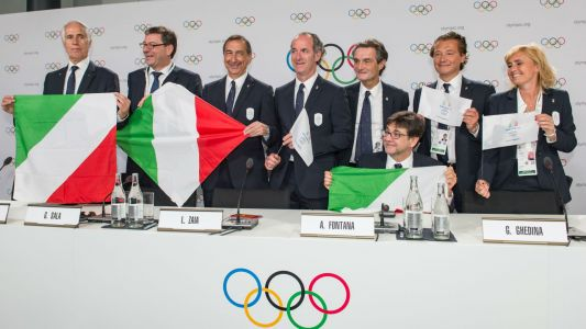 2026 Winter Olympics awarded to Milan-Cortina