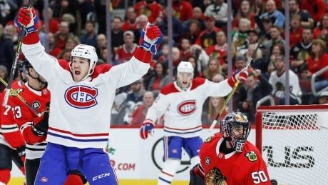 Habs stay hot, hand Blackhawks 7th straight loss