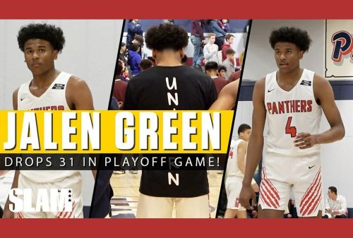 Jalen Green​ DROPS 31 Points in Section Semifinal! 😈