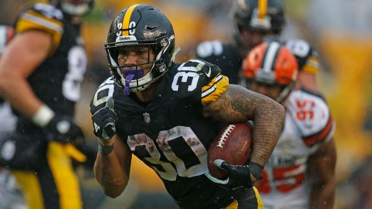 James Conner injury update: Steelers RB returns to practice, questionable vs. Patriots