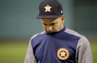 Altuve is Astros DH vs. Red Sox in ALCS Game 3