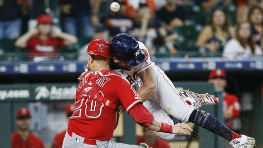 Astros' Jake Marisnick gets 2-game suspension for scary head-on collision