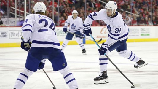 Matthews extends goal streak as Maple Leafs beat Capitals