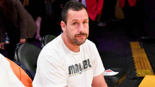 Adam Sandler spotted dropping dimes in pick-up basketball game, earns respect of NBA Twitter