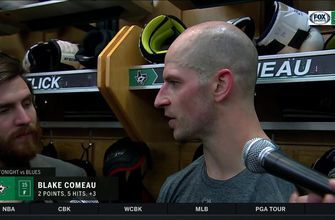 Blake Comeau: 'It's a good win'