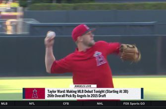 Angels top-10 prospect Taylor Ward earns spot in the majors