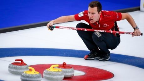Profanity can sometimes slip out on live curling broadcasts
