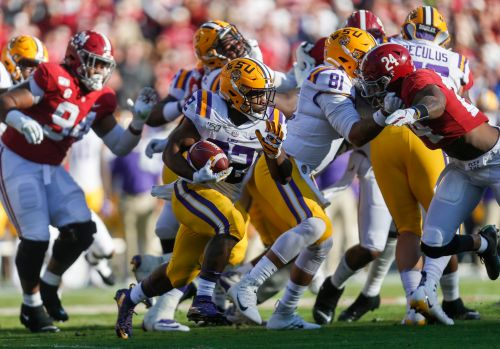 LSU jumps Ohio State for No. 1 spot in College Football Playoff rankings