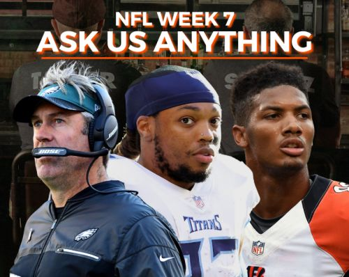 NFL Ask Me Anything Week 7: Football Outsiders LIVE!