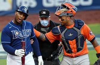 Rays pushed to ALCS Game 7 after three consecutive losses to Astros