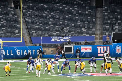 Giants already used to fanless NFL: 'Just like a normal game'