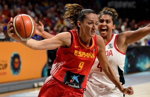 No. 2 Spain too much for Canada in women's basketball exhibition