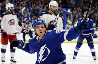 Lightning found their offense in 8-2 rout of the Blue Jackets