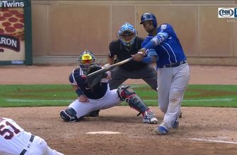 WATCH: Maldonado drives in a pair of runs