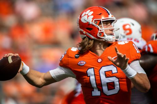 Star Clemson quarterback Trevor Lawrence tests positive for COVID-19