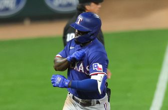 Adolis Garcia's two-run shot lifts Rangers over Twins in extras, 6-3