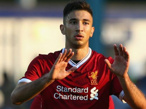 Liverpool's Grujic completes Hertha Berlin loan