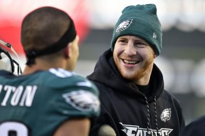 Eagles' Carson Wentz on track to return vs. Colts in Week 3