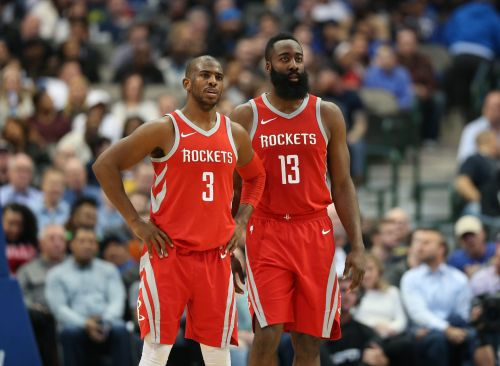Chris Paul says teammate James Harden is the 'best offensive player' he's ever seen