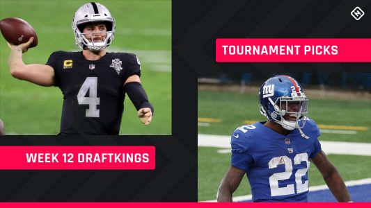 DraftKings Picks Week 12: NFL DFS lineup advice for daily fantasy football tournaments
