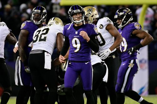 Justin Tucker holds himself accountable for first missed PAT in Ravens' loss