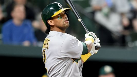 Athletics, Khris Davis agree to 2-year contract extension