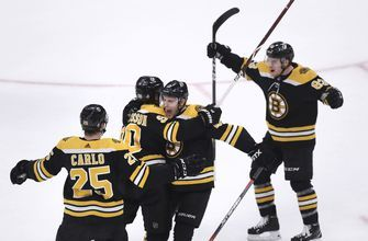 Early goals help lift Bruins beat Maple Leafs 5-1 in Game 7