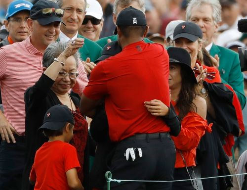 Eye of the Tiger: How CBS covered Woods' win at The Masters