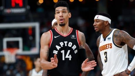 Short-handed Raptors go cold late, fall to West-leading Nuggets