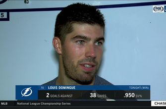 Louis Domingue explains how practice is paying off in successful penalty kills