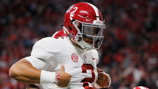 Twitter reacts to Jalen Hurts' performance in Alabama's SEC championship game victory