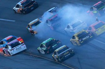 Steve O'Donnell comments on NASCAR not throwing a caution for late wreck at Talladega
