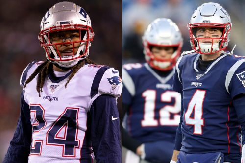 Patriots' Stephon Gilmore talks up Jarrett Stidham after Tom Brady exit