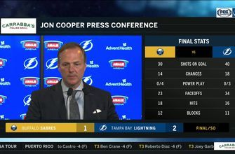 Jon Cooper says Nikita Kucherov was dominant in tonight's win