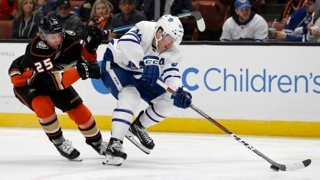 Leafs complete California sweep with OT win against Ducks