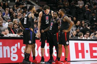 Clippers lose second game in-a-row, 125-87 to Spurs