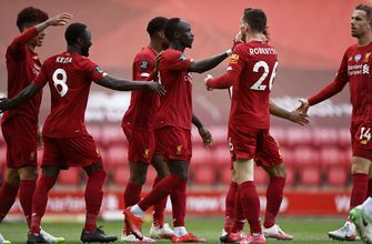 Liverpool labors to win in 1st match at Anfield as champion