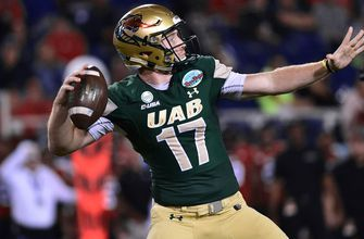 Tyler Johnston III, Xavier Ubosi connect for 3 TDs as UAB routs Northern Illinois in Boca Raton Bowl