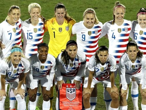 USWNT announces 10 games in 2019 leading up to World Cup