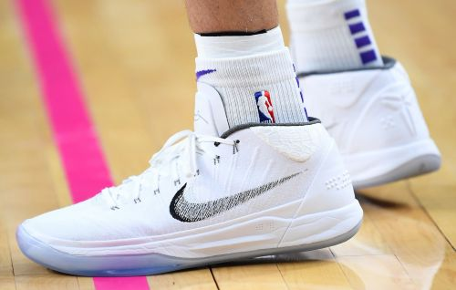 Lonzo Ball continued to wear Nike as designer teased new BBB shoes